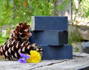 Charcoal Soap,Vegan Soap,Shea Butter Soap,Acne Soap,Men's Soap,Women's Soap,Exfoliating Soap,Cleansing Soap,Detox Soap,Handmade Soap