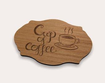 Coffee Coaster 262-145 (Set of 4)