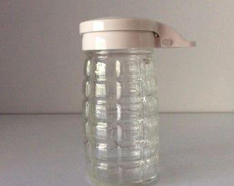 Glass Syrup Dispenser | USA | Vintage