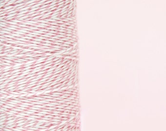 Gift Wrap Cotton Candy Pink Bakers Twine for Crafting, Presents and Finishing Touches