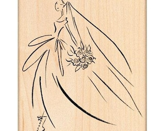 Penny Black Bridal March Rubber Stamp