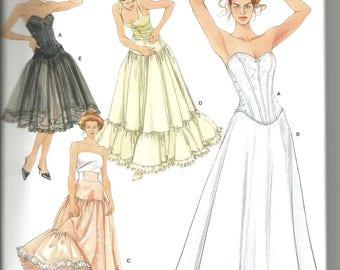 Simplicity 5006 size 6 - 12 new uncut womans lingerie