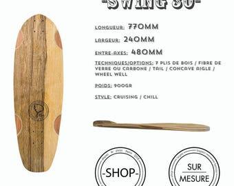 Swing 32 longboard Longboard skateboard handcrafted