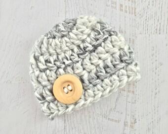 Baby Boy Hat, Baby Boy Beanie, Newborn Boy Hat, Chunky Baby Hat, Crochet Baby Hat, Photo Prop, Crochet Beanie, Baby Hat