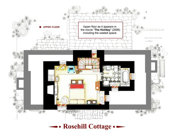 upper floor of rosehill cottage fro the movie the holiday