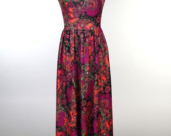 Paisley design dresss