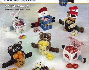 Pick Me Up Pals Plastic Canvas Pattern Book Quick Count 53007