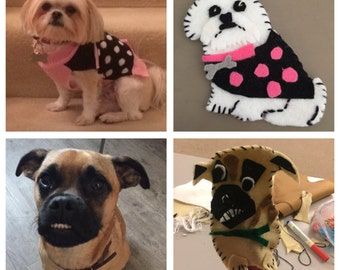 Made To Order Personalised Finger Puppet Pets