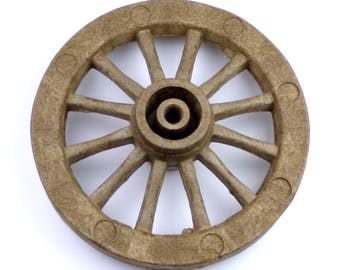 Cart Wheels for Scale Models