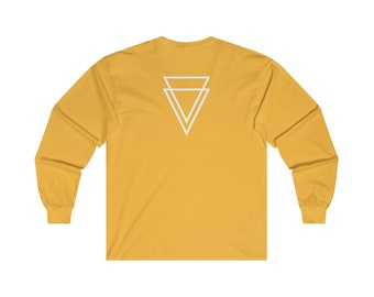 Club Off The Fence Double Triangle Long Sleeve Tee