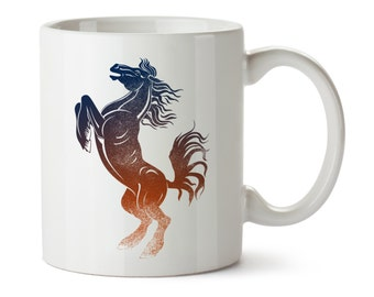 Bronco / Horse Coffee Tea Cup / Equestrian Gifts / Coffee Lover / Riding / Stables / Owner / Best Western Rodeo Travel Mug / Colorado