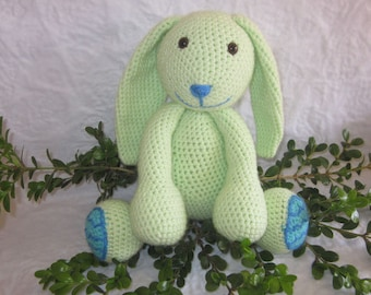 Crochet Pattern - Minty the Spring Bunny