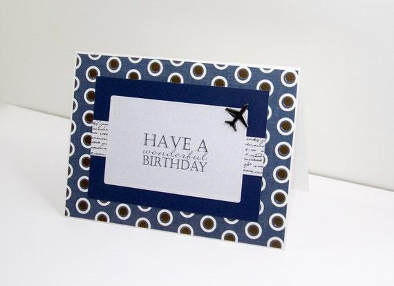 Handmade Th Birthday Cards Son ~ Birthday cards for him handmade greeting cards husband