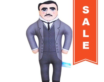 SALE - Nikola Tesla Doll - LIMITED EDITION