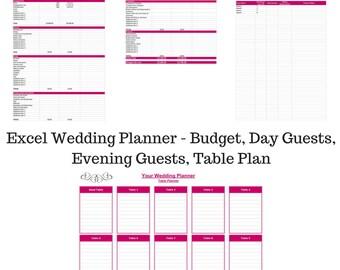 wedding plan budget