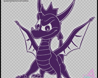 Spyro the Dragon - Vinyl Sticker