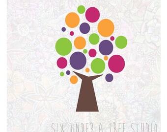 Bubblegum Tree Wall Vinyl Decals Art Graphics Stickers
