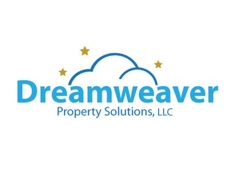 Custom Logo Design.  Premade Logo Design.  Cloud, Dream, Technology, Tech, Stars.  Customized for ANY business logo.