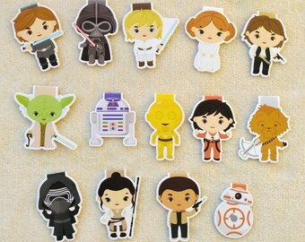 Star Wars — magnetic bookmarks