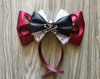 Pirates of the Caribbean Inspired Hair Bow