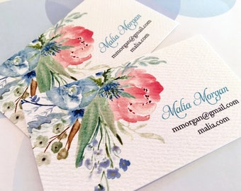 Business Cards, Custom Cards, Printed Business Cards, Set of 50