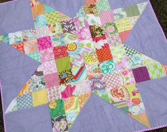 Star quilt, heather bailey mixed selection