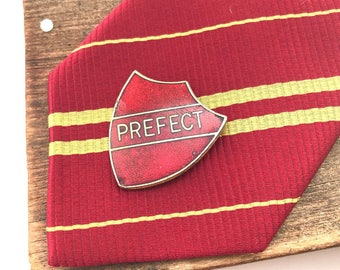 Prefect pin, prefect badge, vintage pin badges, vintage enamel pin, lapel pin, vintage uniform, pin enamel, enamel pin vintage, pins movie,