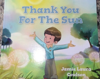 Children's Gratitude Book - Thank You For The Sun