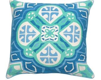 Charlotte Pillow - Royal Blue