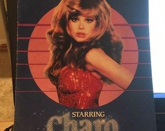 Bal du Moulin Rouge Souvenir Program CHARO -Las Vegas HILTON Show