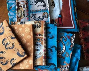 Southwest Fabric Fat Quarter Bundle - 20 Fabrics