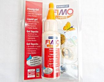 50ml Fimo Liquid, 1.69 fl oz, Liquid Clay, Oven Bake Clay, Clear Liquid Fimo, Staedtler Liquid, Fimo Deco Gel, UK Seller, Craft Supplies