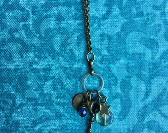 Small charms necklace