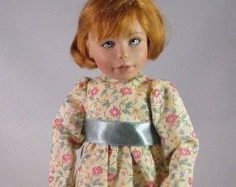 10 inch Doll, Willow's Way Dress, Floral Fun