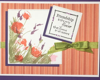 Friendship and Flowers (A6)