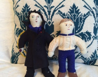 BBC Sherlock Inspired Sherlock and John