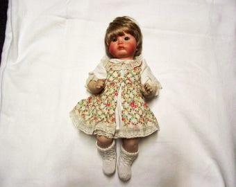 Antique Repro Doll S & H 259? 38 cm (52)