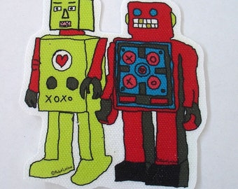 two robots patch