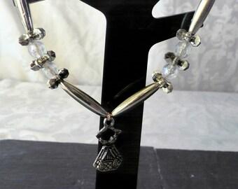 Bronze necklace dress 43.5 cm