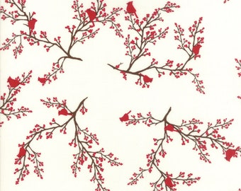 Return to Winter's Lane Snow 13172 11 by Kate & Birdie Paper Co for Moda Fabrics - Quilt, Christmas