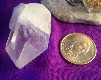 SPIRITUAL HEALING Quartz Crystal - Protection Aura/Chakra/Meditation +Activated +Blessed