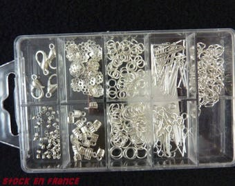 Kit 9 lockers for silver jewelry box