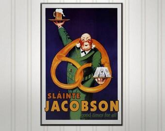 "Large Personalized Irish Pub Sign, Man Cave Bar Sign, Pub Sign, 18"" x 24"""