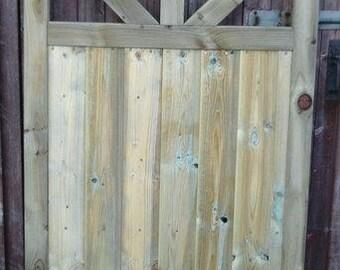 3 Spoke Garden Gate