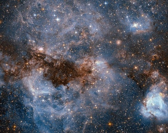 Astronomy Cross stitch PATTERN - Instant Download - N159 in the Large Magellanic Cloud
