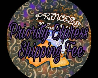 Priority Express Mail Shipping (Overnight)- Extra Fee
