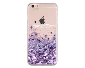iphone 6 case liquid personalised