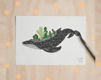 Come Sail The Succulent Seas Print
