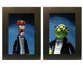 Muppets encadré Photo ensemble bécher et Bunsen jouets