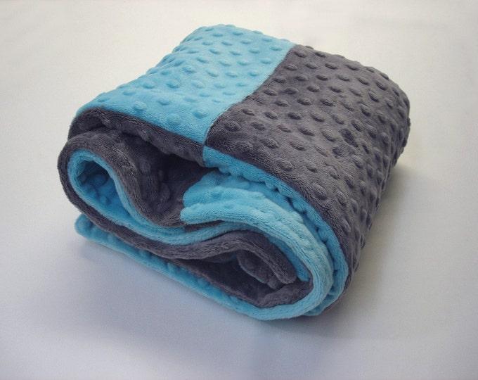 Minky Stroller Baby Blanket
